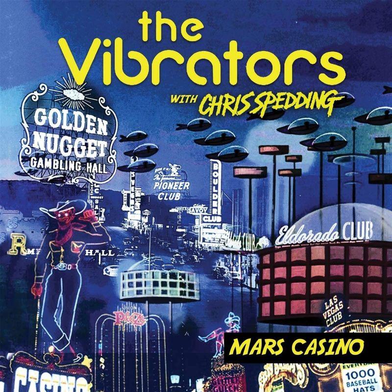 VIBRATORS/CHRIS SPEDDING - MARS CASINO - LIMITED EDITION PINK VINYL