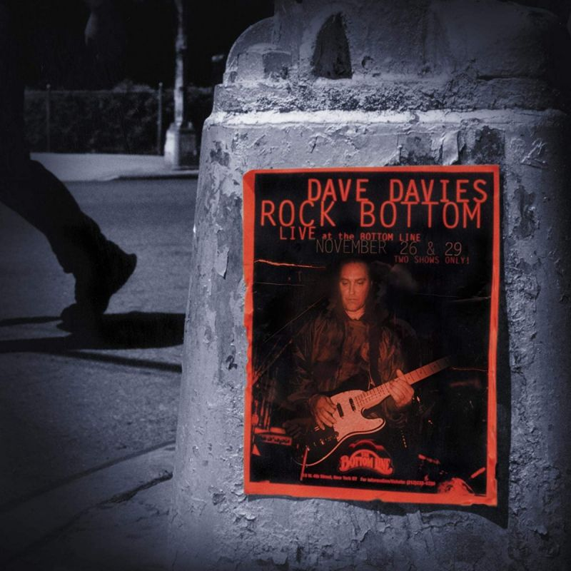 DAVE DAVIES - ROCK BOTTOM - LIVE AT THE BOTTOM LINE - 2CD