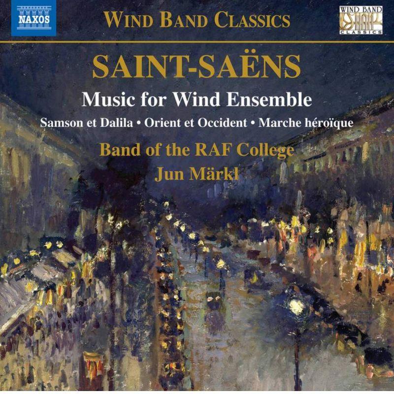 RAF COLLEGE BAND/MARKL - SAINT-SAENS/MUSIC FOR WIND