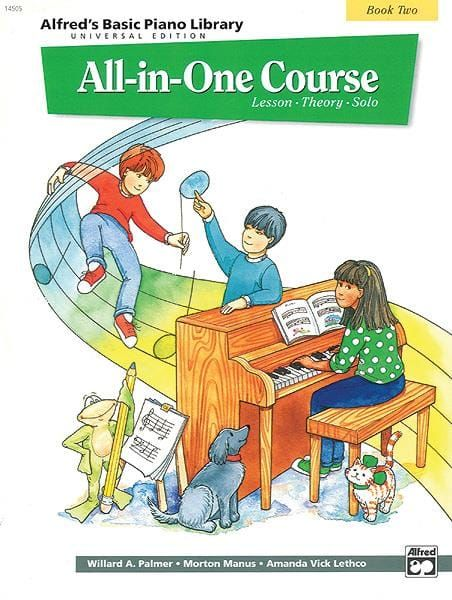 Palmer, Manus & Lethco - All-In-One Piano Course Book 2
