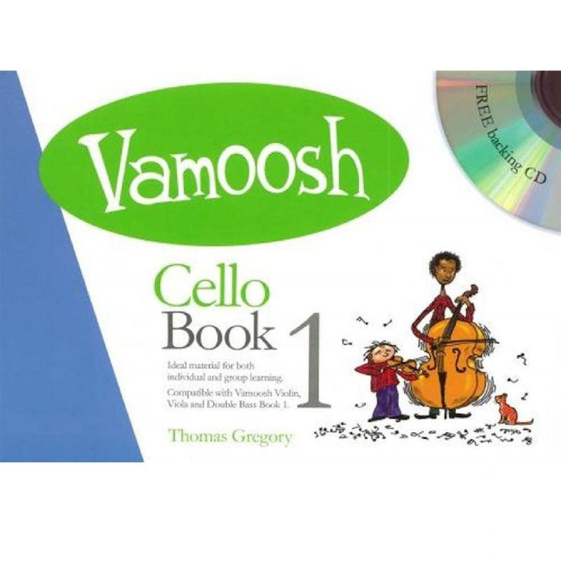 Vamoosh Cello Book 1 (Bk CD)