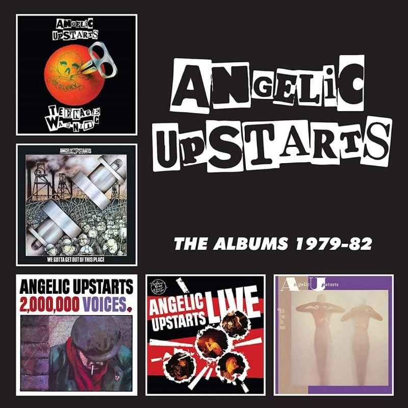 ANGELIC UPSTARTS - THE ALBUMS 1979-82