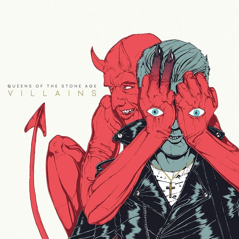 QUEENS OF THE STONE AGE - VILLAINS - DLX LP