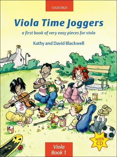 Viola Time Joggers (Book with CD)