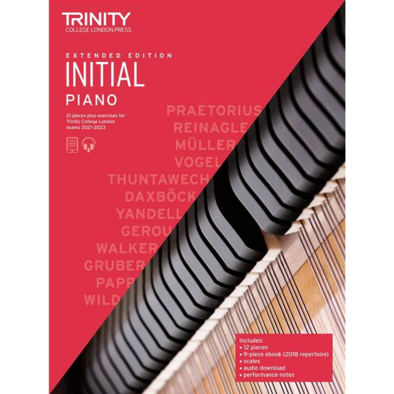 Trinity College London Piano Exam Pieces & Exercises 2021-2023 Initial (extended edition)
