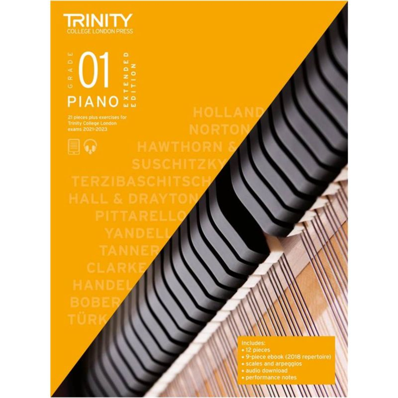 Trinity College London Piano Exam Pieces & Exercises 2021-2023 Grade 1 (extended edition)