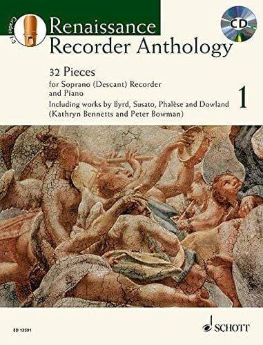 Renaissance Recorder Anthology Book 1
