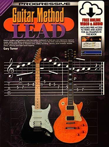 Turner - Progressive Guitar Method Lead Bk and Cd + Free Dvd
