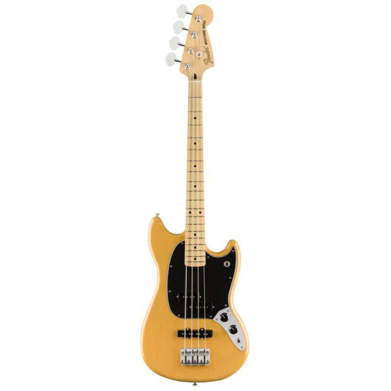 Fender Limited Edition Player Mustang Bass PJ Maple Fingerboard Butterscotch Blonde