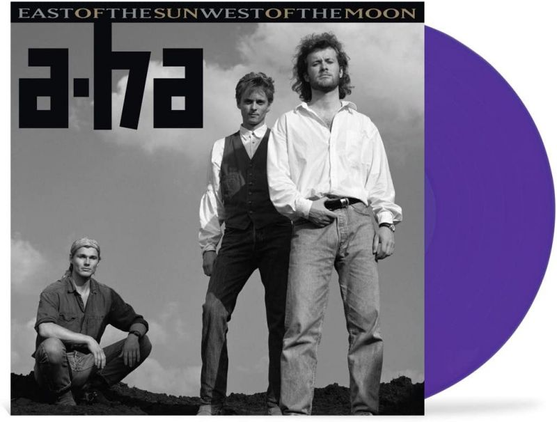 A-HA - EAST OF THE SUN WEST OF THE MOON - PURPLE VINYL - NAD20