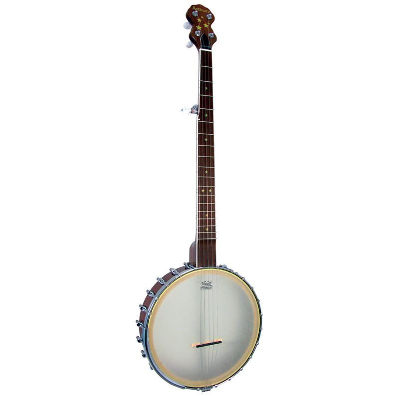 Ashbury AB-85 5 String Openback Frailing Banjo, Walnut Rim