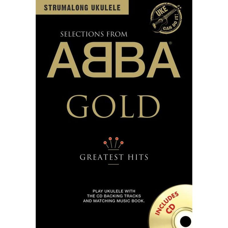 Strumalong Ukulele Abba Gold