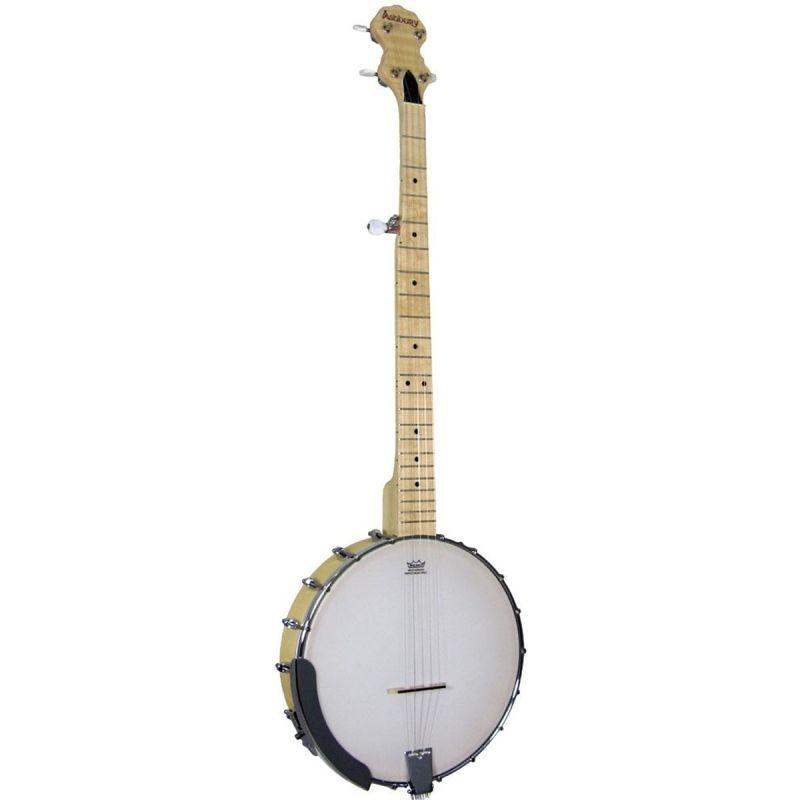 Ashbury AB-25 5 String Openback Banjo, Maple