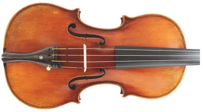 Heritage Series VI004-4/4 Violin Strad Model, Gold Set Up With Virtuoso Set Up