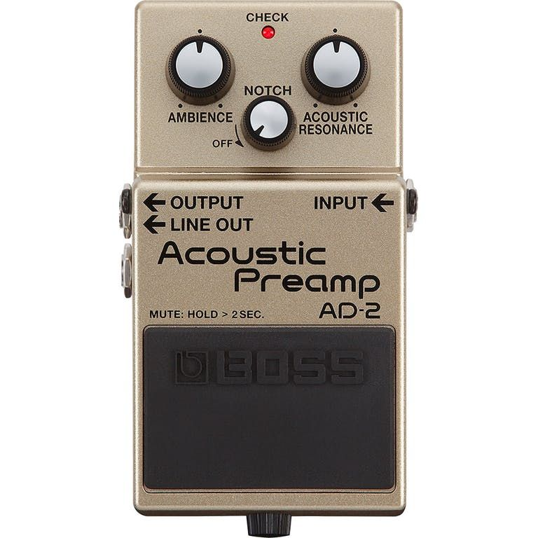 Boss AD2 Acoustic Pre Amp Pedal