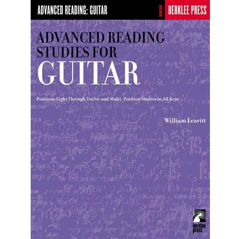 Leavitt, William - Advanced Reading Studies For Guitar