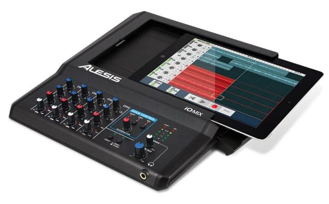Alesis iO Mix 4 Channel Audio Interface / Mixer for Ipad