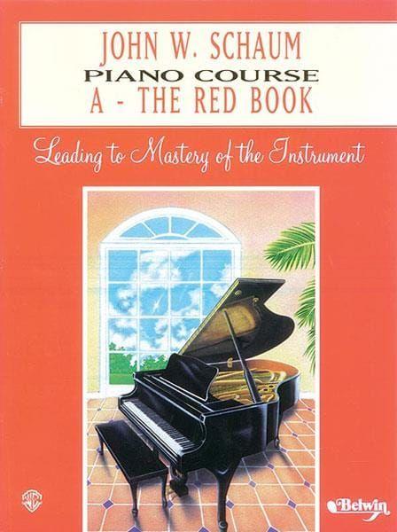 Schaum, John W. - Schaum Piano Course A (Red Cover)