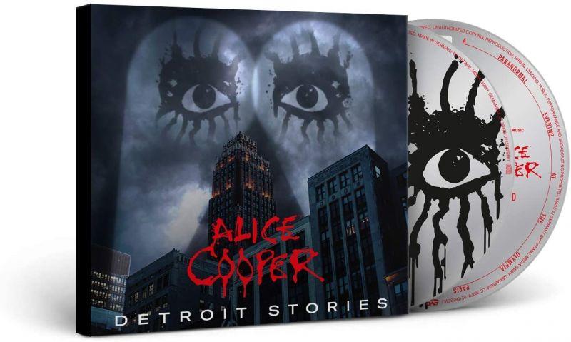 ALICE COOPER - DETROIT STORIES - CD + DVD
