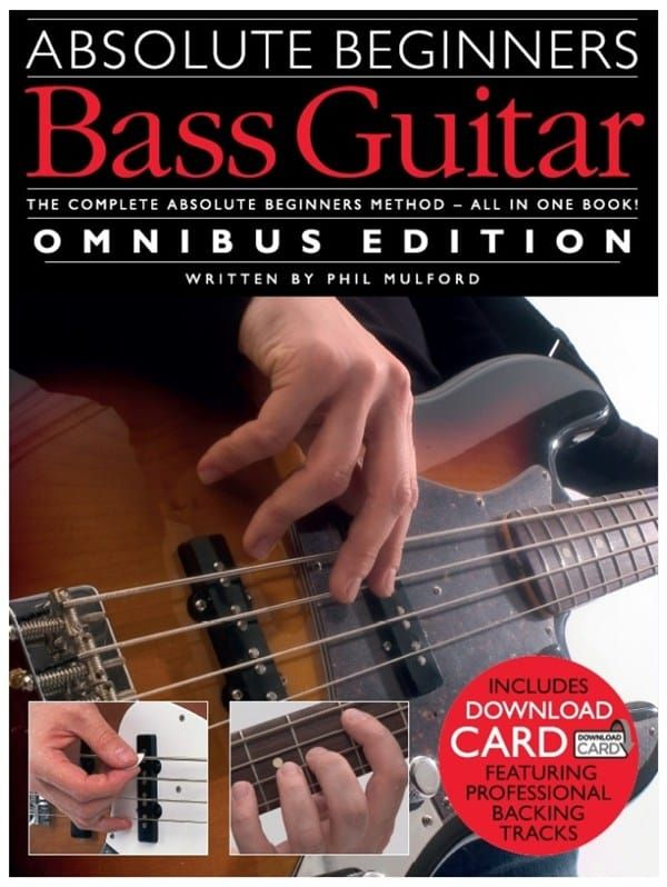 Absolute Beginners Bass Guitar - Omnibus Edition (Book with download card)