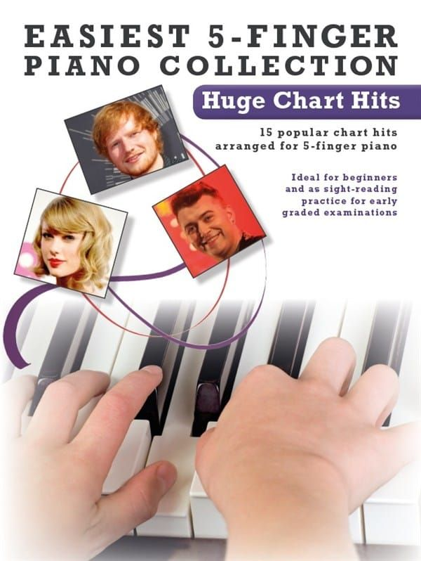Easiest 5-Finger Piano Collection - Huge Chart Hits