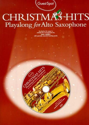Various - Guest Spot Christmas Hits Playalong For Alto Saxophone