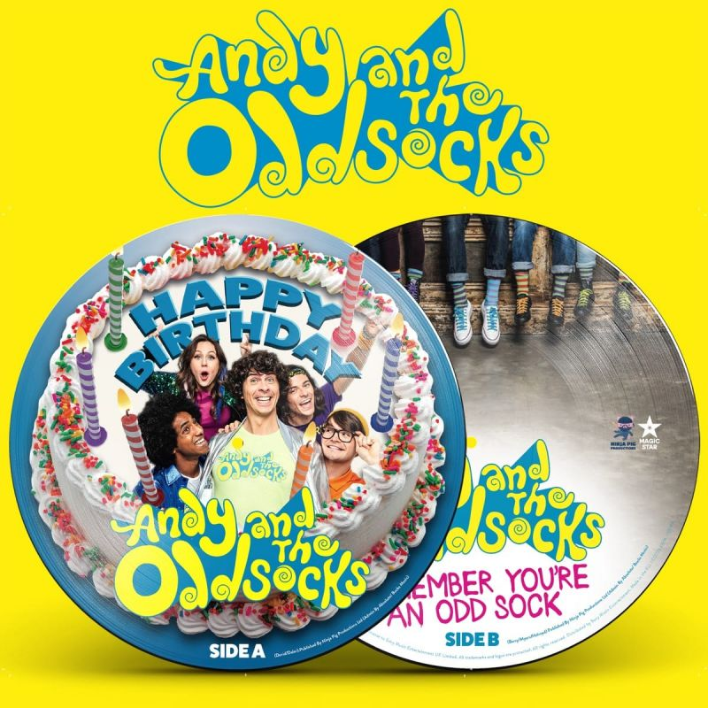 ANDY And THE ODD SOCKS - HAPPY BIRTHDAY - 7INCH - RSD20