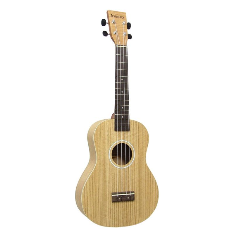 Ashbury Tenor Ukulele, Flamed Oak