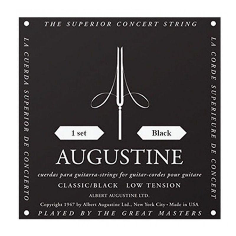 Augustine Black Label Set Classical Guitar Strings