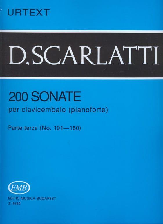 Scarlatti, D. - Scarlatti 200 Sonatas for piano Volume 3 (no. 101-150)