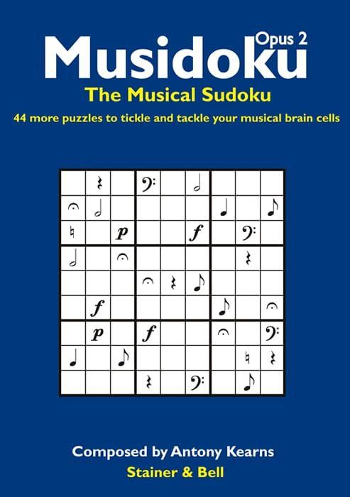 Musidoku Opus 2 Puzzle Book