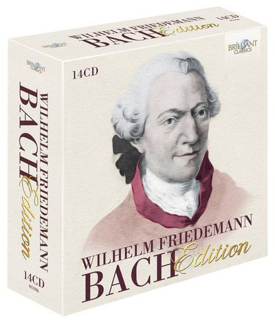 VARIOUS ARTISTS - W F BACH EDITION