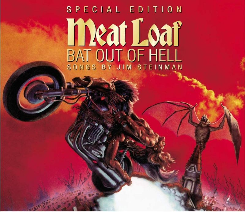 MEAT LOAF - BAT OUT OF HELL - CLEAR VINYL