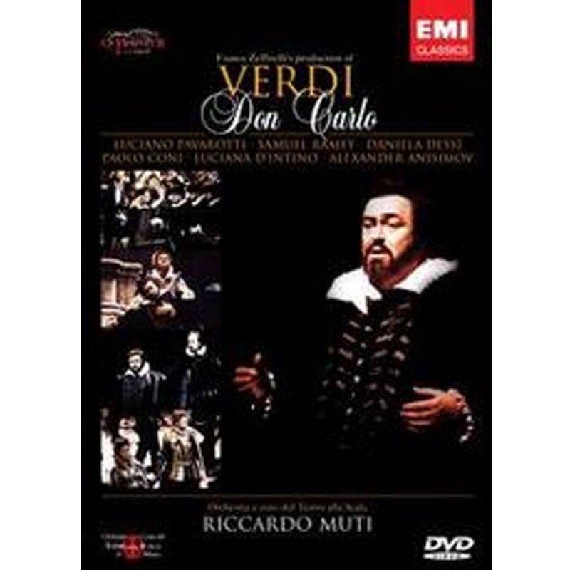 PAVAROTTI MUTI - VERDI DON CARLO (DVD)