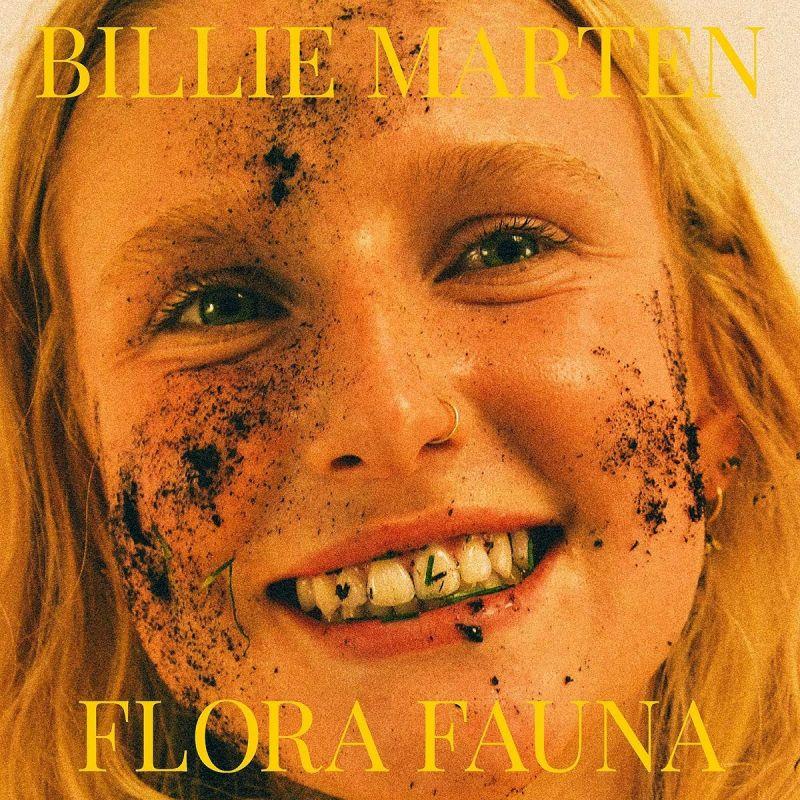 BILLIE MARTEN - FLORA FAUNA - transparent yellow vinyl