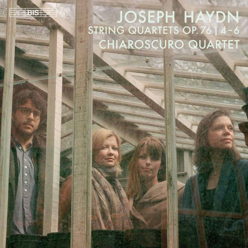 CHIAROSCURO QUARTET - HAYDN/STRING QUARTETS OP 76