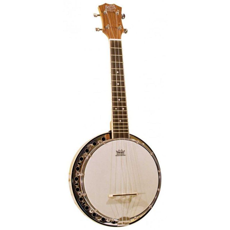 Barnes and Mullins UBJ1 Banjo Ukulele with Resonator