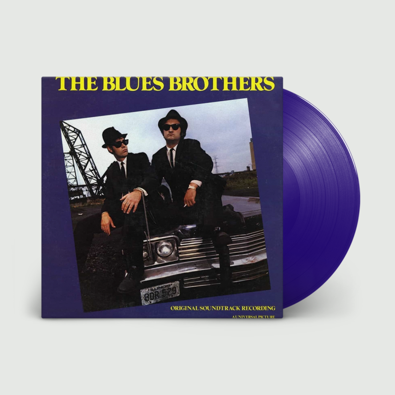 BLUES BROTHERS - THE BLUES BROTHERS - BLUE VINYL - NAD20