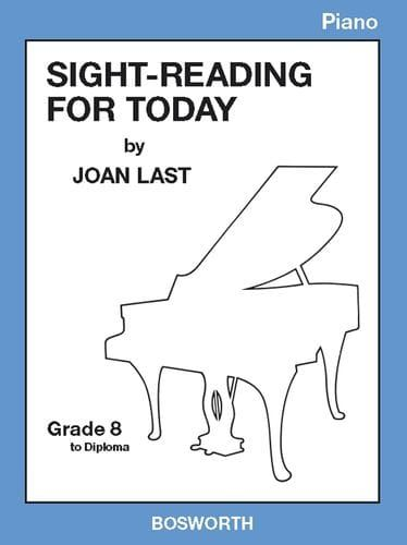 Last, Joan - SIGHT READING FOR TODAY PIANO GRADE 8 TO