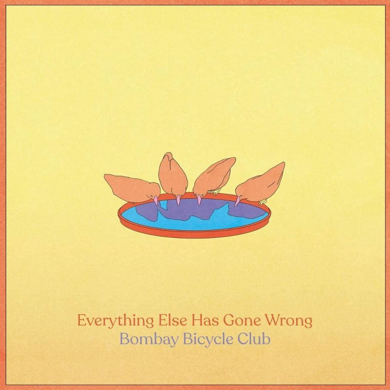 BOMBAY BICYCLE CLUB - EVERYTHING ELSE HAS GONE WRONG - CD