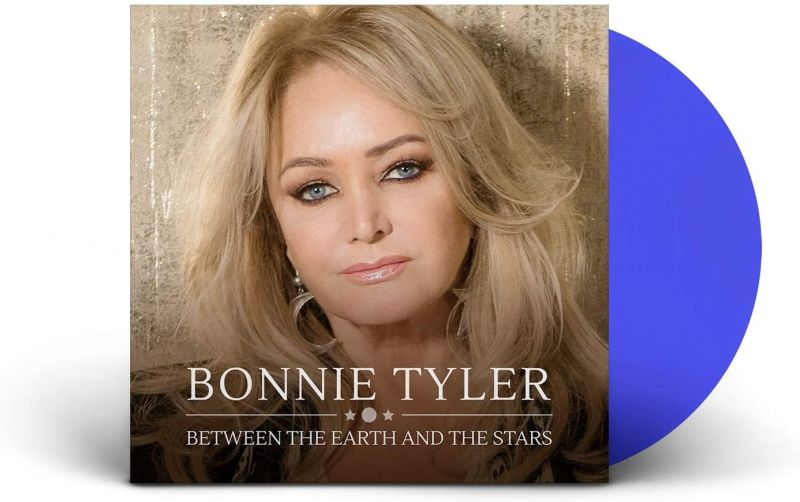 BONNIE TYLER - BETWEEN THE EARTH AND THE STARS - BLUE VINYL - NAD20