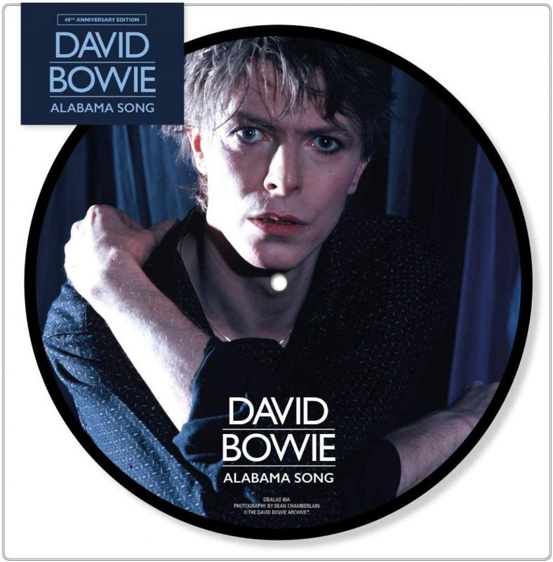 DAVID BOWIE - ALABAMA SONG - PICTURE DISC