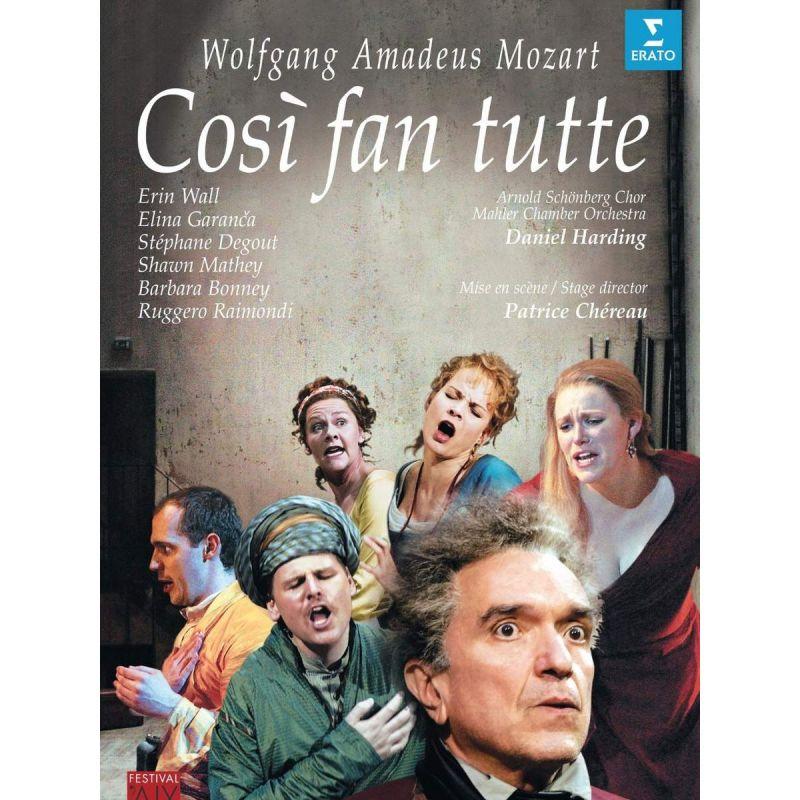 DANIEL HARDING - MOZART COSI FAN TUTTE (DVD)