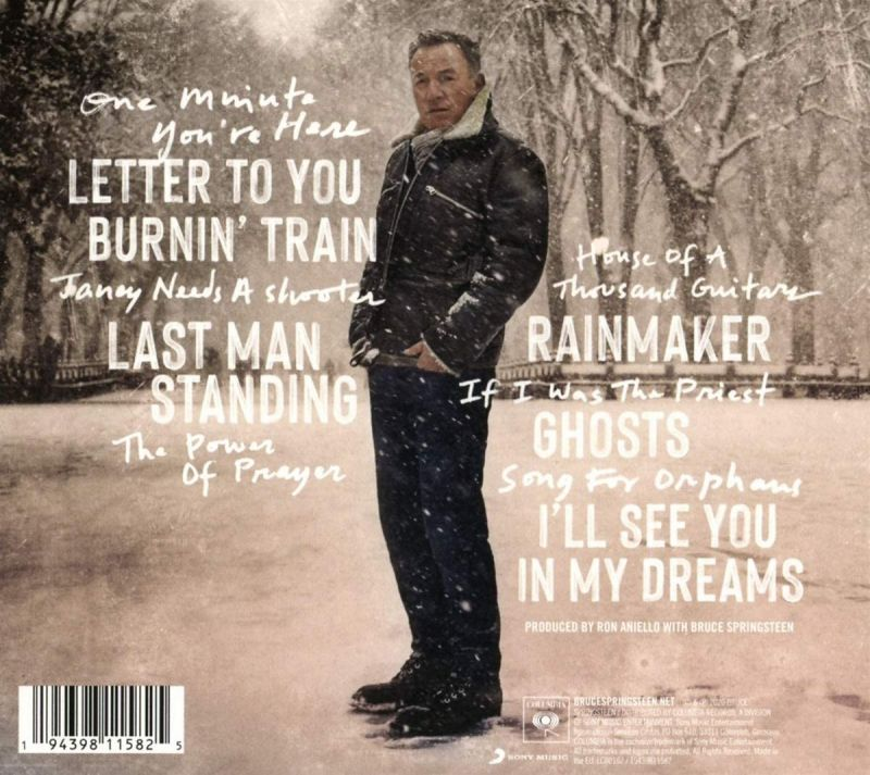 BRUCE SPRINGSTEEN - LETTER TO YOU - CD