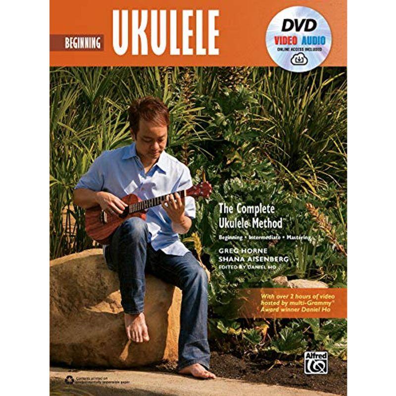 Beginning Ukulele (Book, DVD + Online Audio)