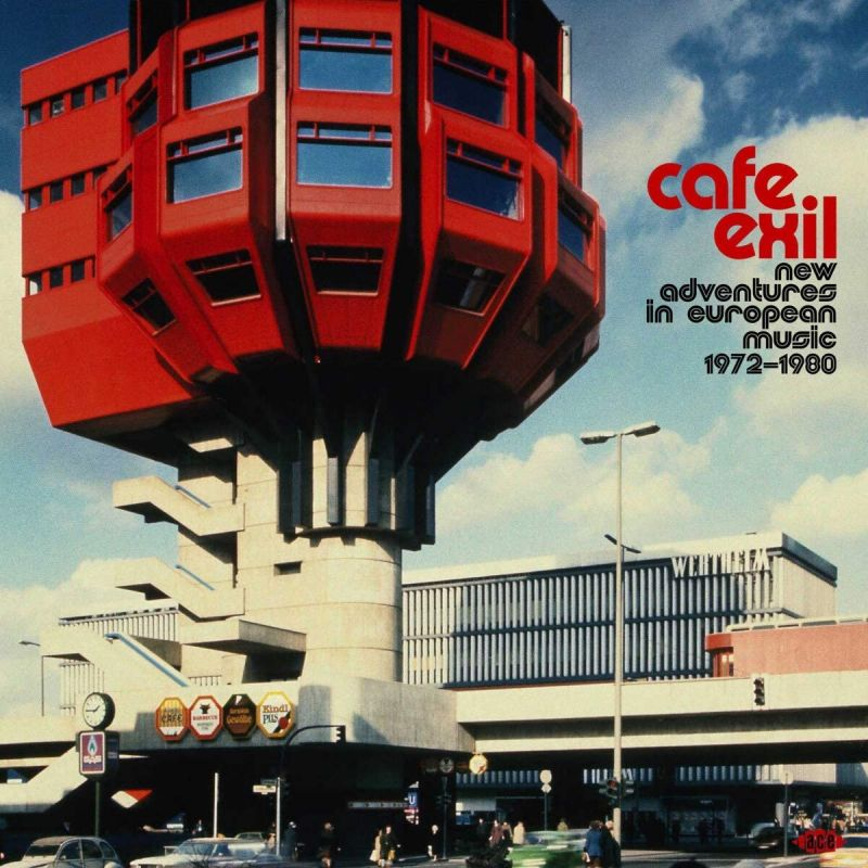 VARIOUS ARTISTS - CAFE EXIL - NEW ADVENTURES IN EUROPEAN - 2LP VINYL