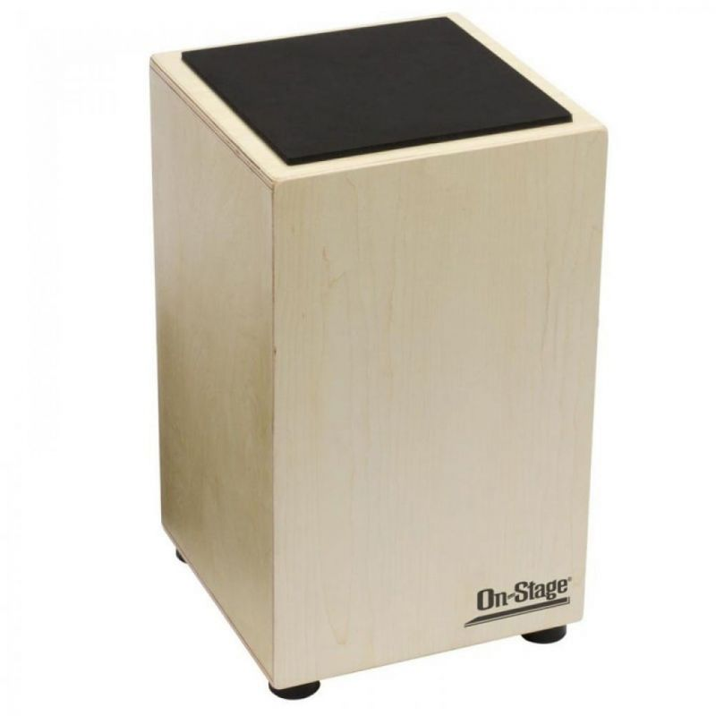 On Stage Cajon With Fixed Snare And Carry Bag