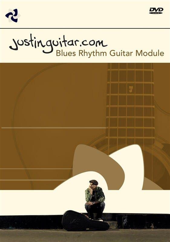 Justin Sandercoe - Justinguitar.com Blues Rhythm Guitar Module (PAL DVD)