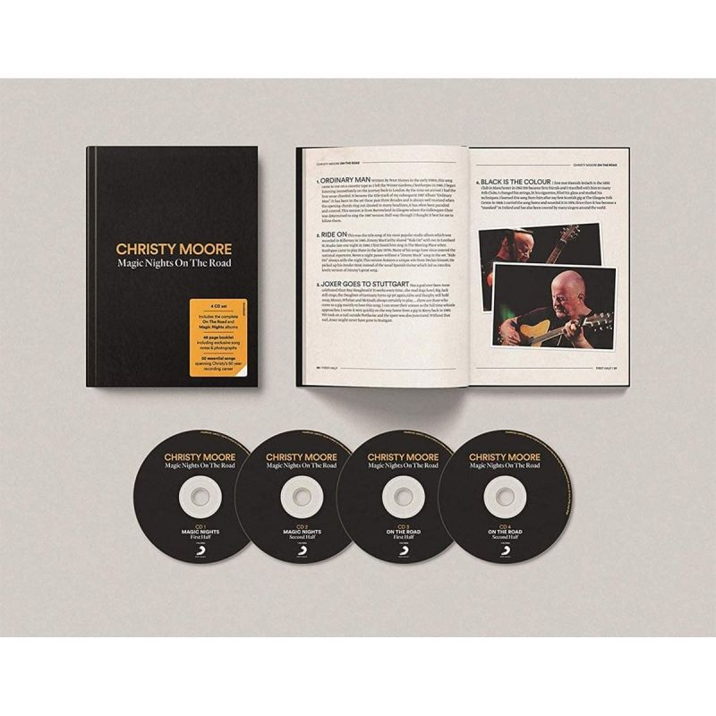 CHRISTY MOORE - MAGIC NIGHTS ON THE ROAD - 4CD
