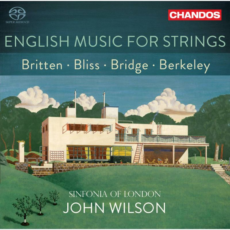 SINFONIA OF LONDON/WILSON - ENGLISH MUSIC FOR STRINGS